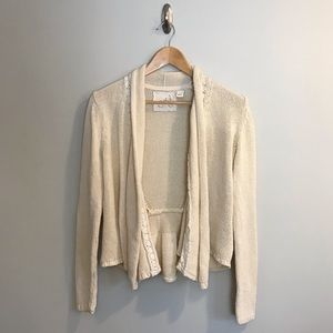 Anthropologie Angel of the North Knit Cardigan